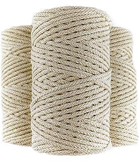 7665C316 - Cordón Algodón Trenzado 5 Mm X 100: Amazon.es ...