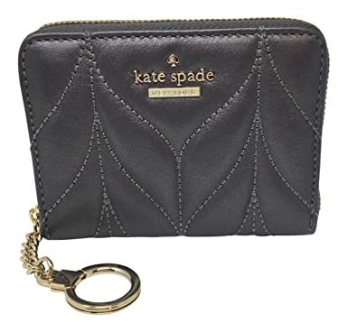 Kate Spade Briar Lane Dani Zip Around Wallet W/Keychain