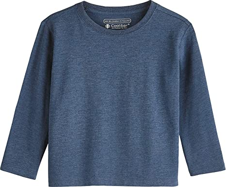 dbede3b89 Coolibar UPF 50+ Toddler Long Sleeve Everyday T-Shirt - Sun Protective (2T