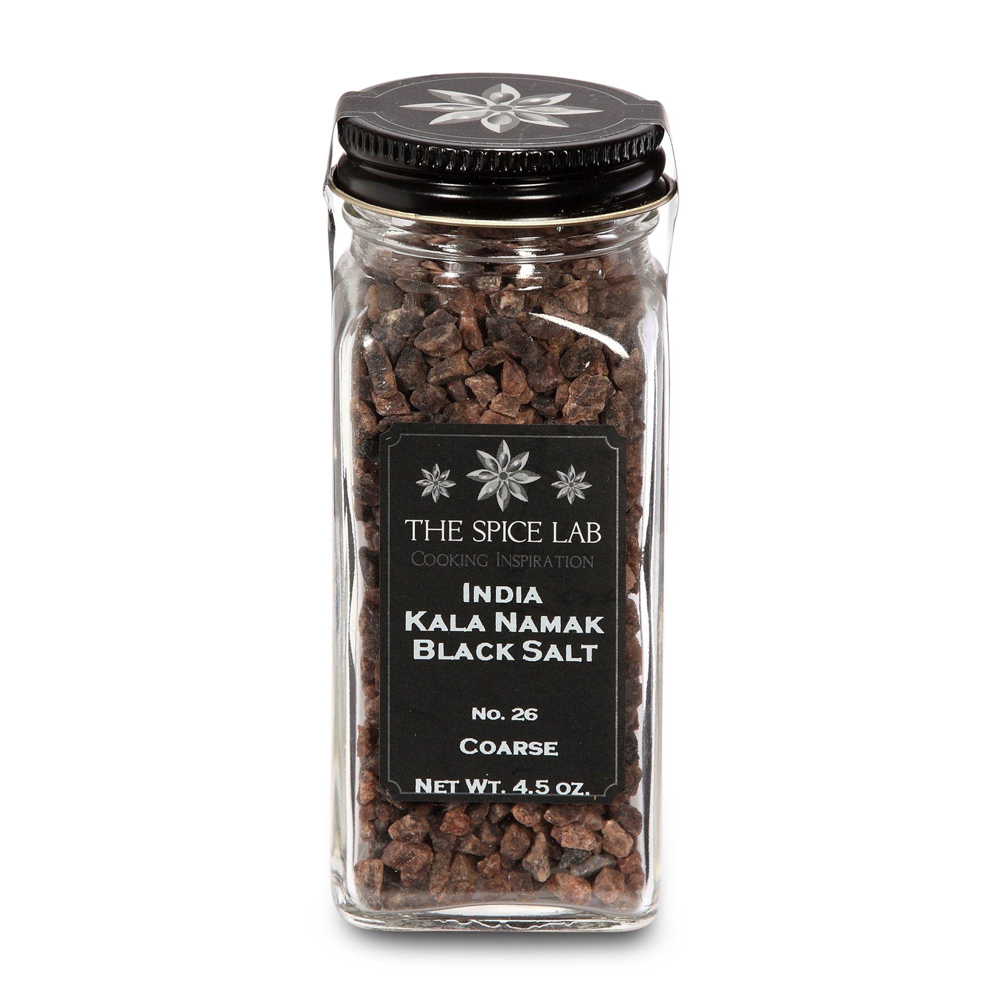 The Spice Lab India Black Salt-Kala Namak (Coarse) Sulfur Mineral Salt, 1-Count Package