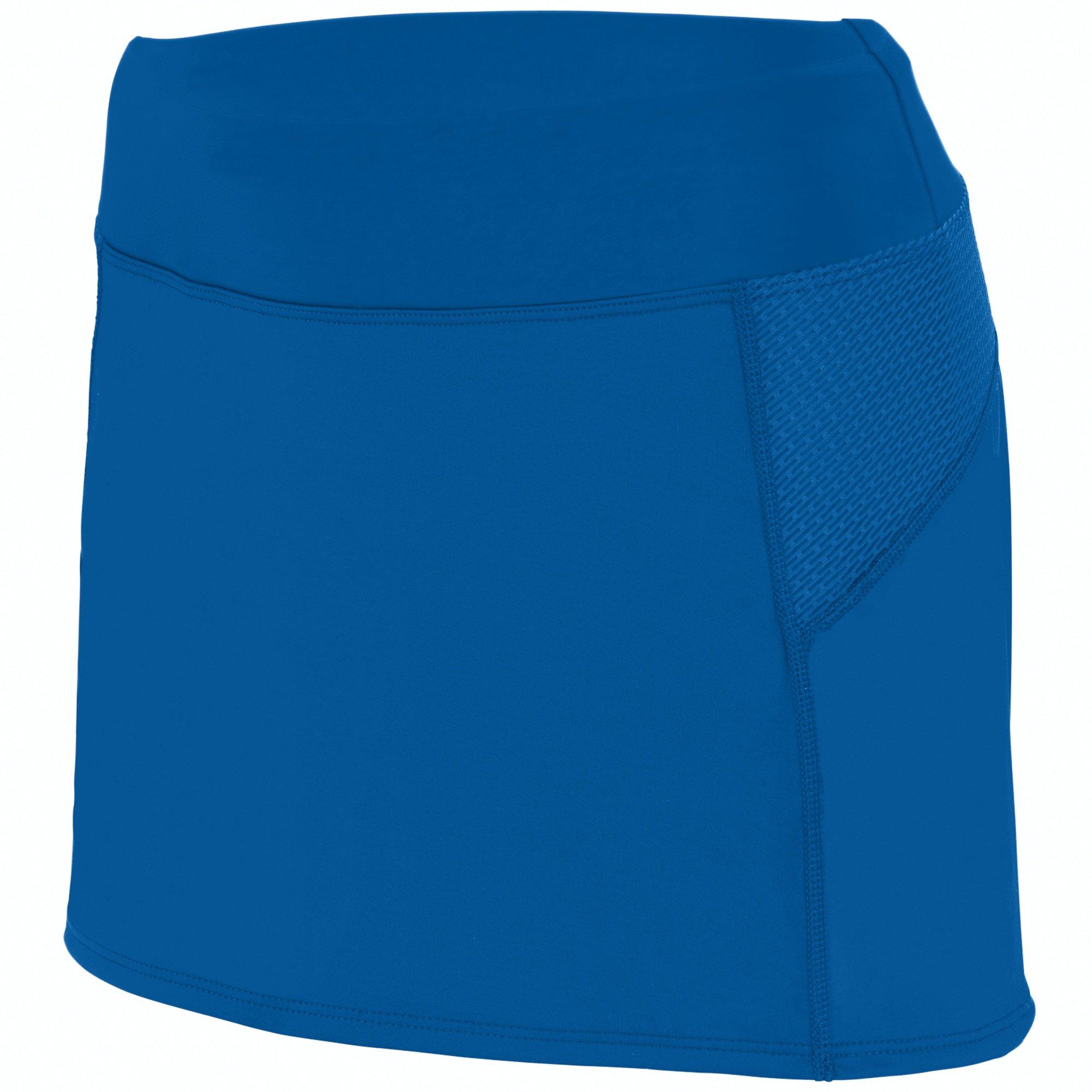 Augusta Sportswear Girls Femfit Skort L Royal/Graphite by Augusta Sportswear