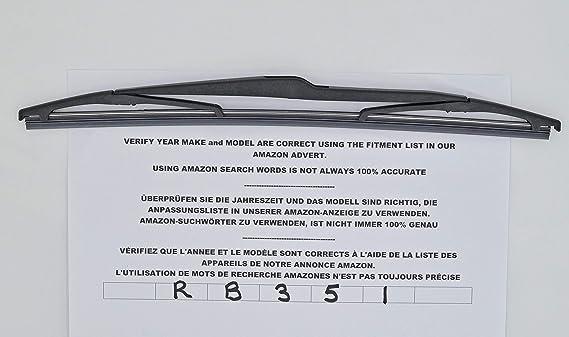 RB351 - Limpiaparabrisas trasero con ajuste perfecto