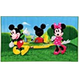 disney 15419 mickey mouse clubhouse teppich synthetikfaser mehrfarbig 80 x 140 x 1 12 cm. Black Bedroom Furniture Sets. Home Design Ideas