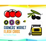 Farmers' Market Flash Cards (ABC Flash Cards, Learning ABCs for Toddlers and Kids, Speech Therapy Flash Cards)