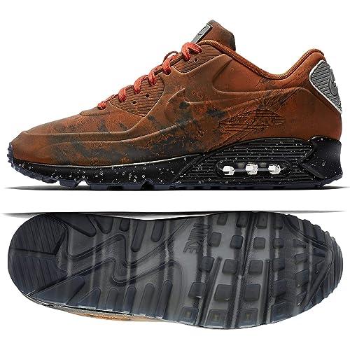 Nike air max black and orange men's size 11 made in Vietnam