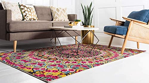 Unique Loom Vita Collection Traditional Over-Dyed Vintage Multi Area Rug 10' 6 x 16' 5
