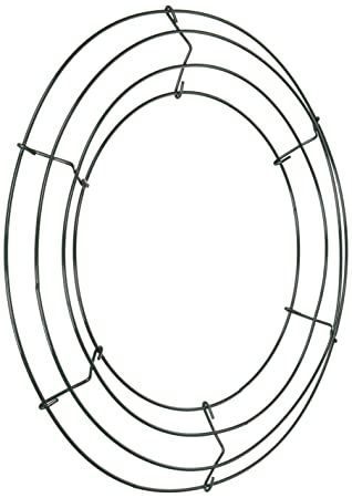 wire wreath frame 12 green - Wire Wreath Frame Wholesale