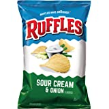Ruffles Sour Cream and Onion Potato Chips, 184.2g