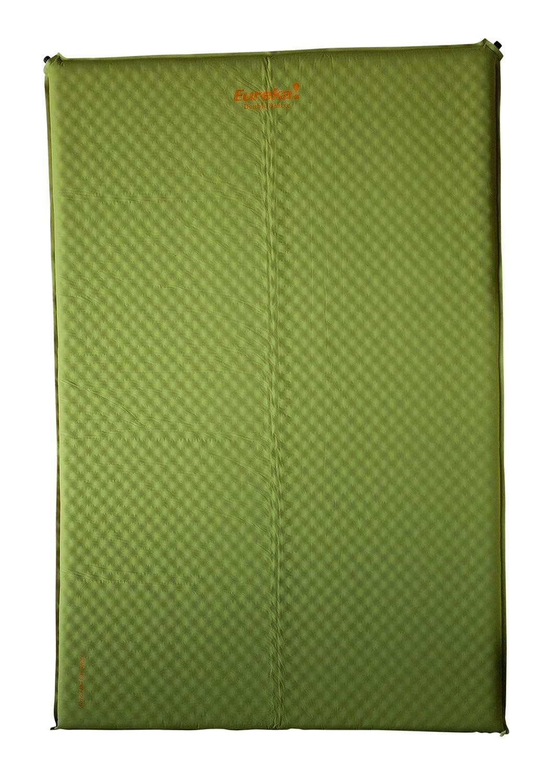 Eureka! Airrest DC Tapis de sol gonflable 2 personnes Vert clair/orange E4500020-DCDOUB
