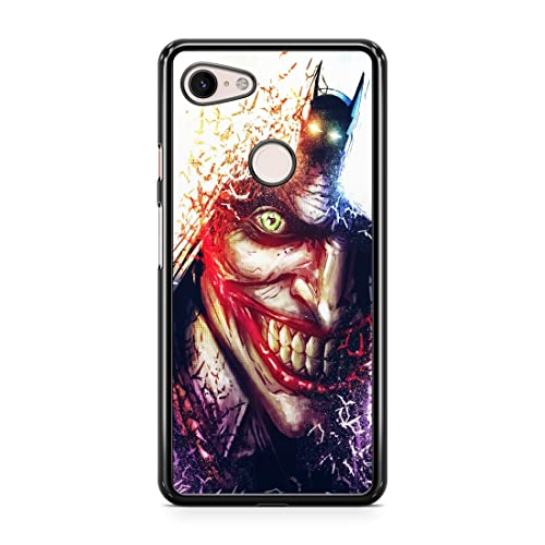Inspired by Joker Case for Google Pixel 4 XL Case Comics Super Hero Crazy Smile Clown 4XL Phone Cover M71