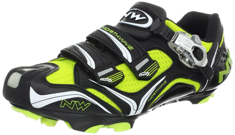 Northwave - Zapatillas de ciclismo para hombre BLACK/GREE Talla:45 ...