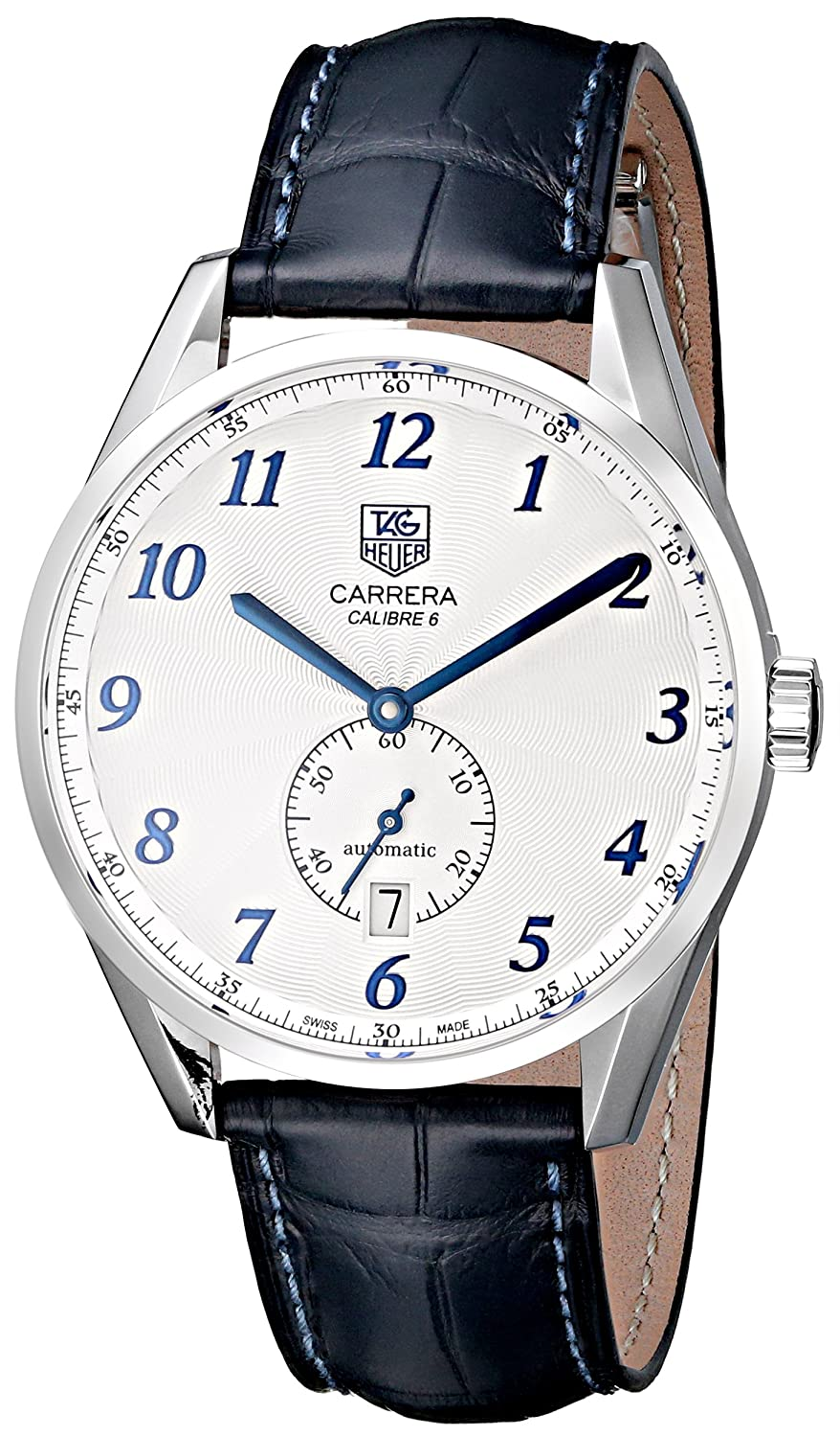 Tag Heuer Men's WAS2111.FC6293 Carrera White Dial Dress Watch
