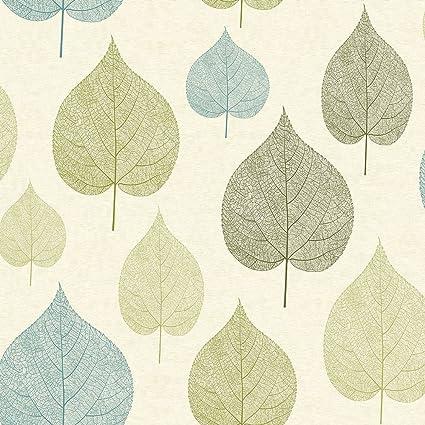 Crown Signature Leaf Wallpaper Green M1071