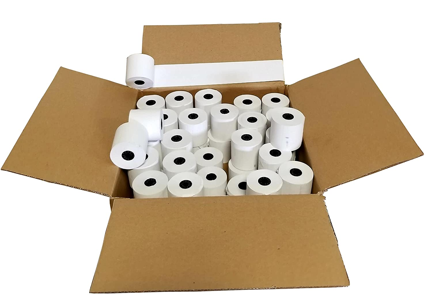 """Amazon.com : 2 1/4"""" X 165' Thermal Paper Receipt for Sharp Xe-a23s Xe A43s2  Xe A207 Xe-a407 : Office Products"""