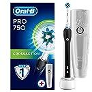 Oral-B PRO 750 Special Edition Elektrische Zahnbürste, mit Gratis Reise-Etui, schwarz