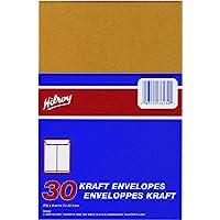 Hilroy 76134 Kraft Envelopes, 5-7/8x9-Inch, 30-Count