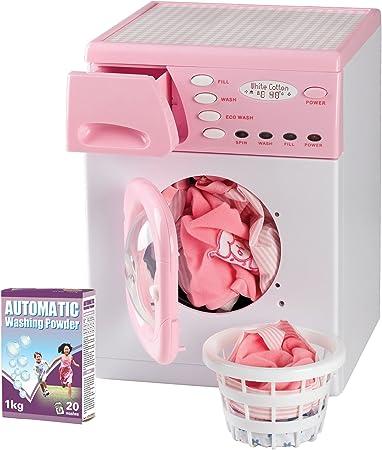 Casdon 621 Lavatrice Giocattolo, Rosa