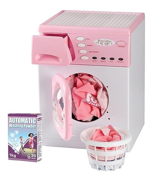 Casdon 621   lavatrice giocattolo, rosa: amazon.it: giochi e ...