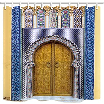 gohebe Marokkanische Vorhänge Dusche für Badezimmer Marokko Antik ...