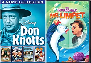 Dream of being a Fish! Incredible Mr. Limpet DVD + Disney Don Knotts Apple Dumpling Gang / Rides Again / Gus Mule / Hot Lead Cold Feet Family Comedy Pack