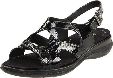 1151c31633 Amazon.com | ECCO Women's Breeze Ankle-Strap Sandal | Heeled Sandals