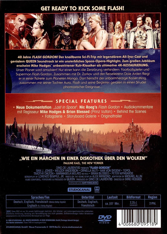 Flash Gordon [Alemania] [DVD]: Amazon.es: Sam J. Jones, Max ...