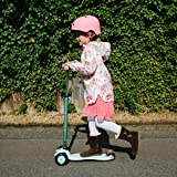 Micro Scooters Maxi 3 Wheel Lightweight With Adjustable Handlebar For Age 5-12 - Mint Special Edition