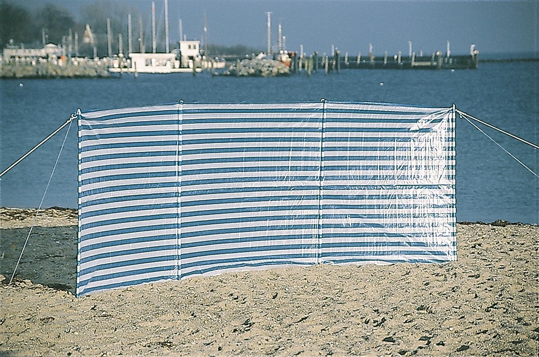 EXPLORER Windschutz PE mit Abspannleinen und Erdnägeln Stahl