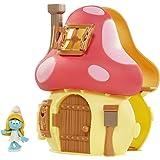 Smurfs Mushroom House Playset con Puffetta