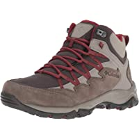 Columbia Womens 1807621 Wahkeena Mid Waterproof Hiking Boot, Breathable, High-Traction Grip