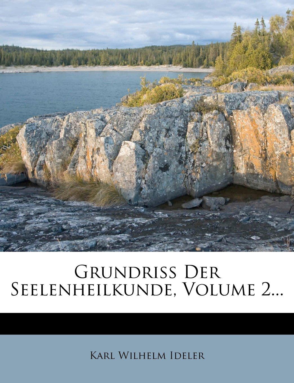 Download Grundriss Der Seelenheilkunde, Volume 2... (German Edition) pdf epub