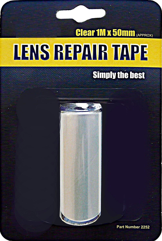 Best Repair Cracked Broken Damaged Reversing Clear Light Headlight Lens Tape AutoPower
