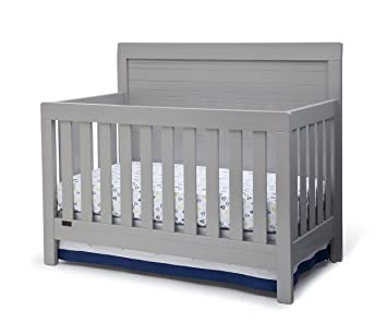 simmons juvenile furniture. simmons kids rowen 4-in-1 convertible crib, grey juvenile furniture