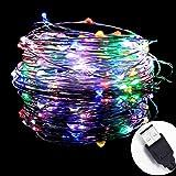 InteTech 10 metri Stringa fata luce 100 LED USB IP67 impermeabile filo di rame Ghirlanda luminosa Atmosfera decorazione di Natale /Festa /Sera /Anniversario /Casa /Ristorante /Giardino /Bar/ Albero/Compleanno colore