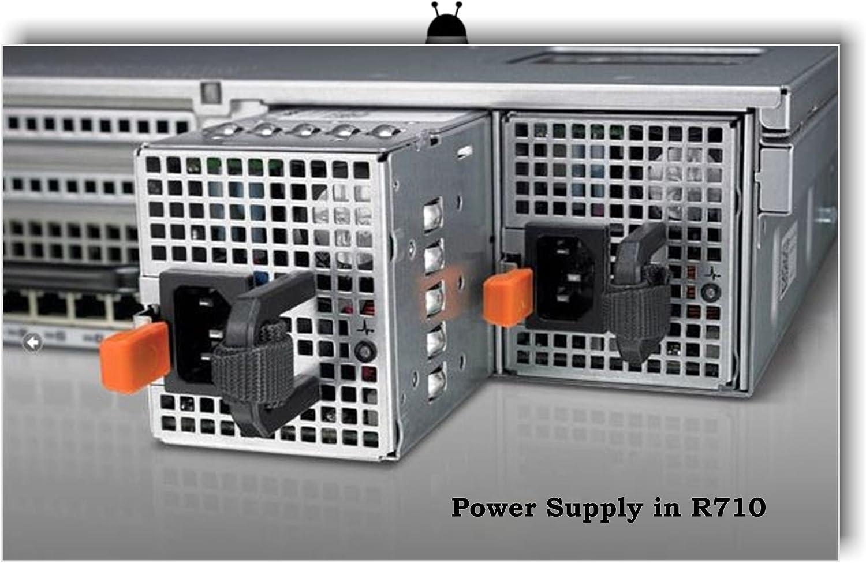 Dell 07NVX8 Poweredge R710 T610 870W Power Supply SUB