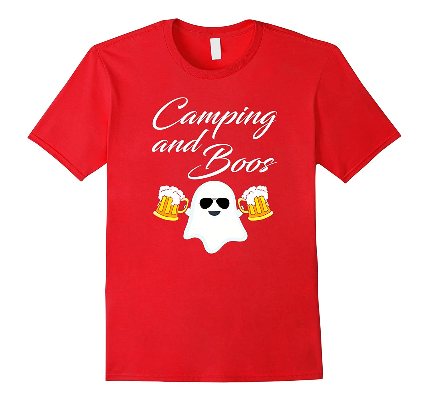 Camping and boss t-shirt Halloween gifts Team Drinking-T-Shirt