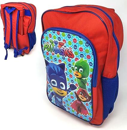 100/% Official PJ Masks Kids Boys School Bag Rucksack Backpack Nursery