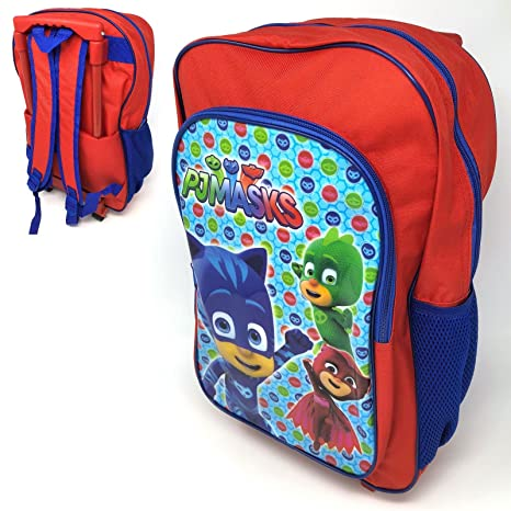 PJ Masks Deluxe Backpack Trolley Bag