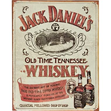 Jack Daniels - Sippin Whiskey Tin Sign 16  X 12.5