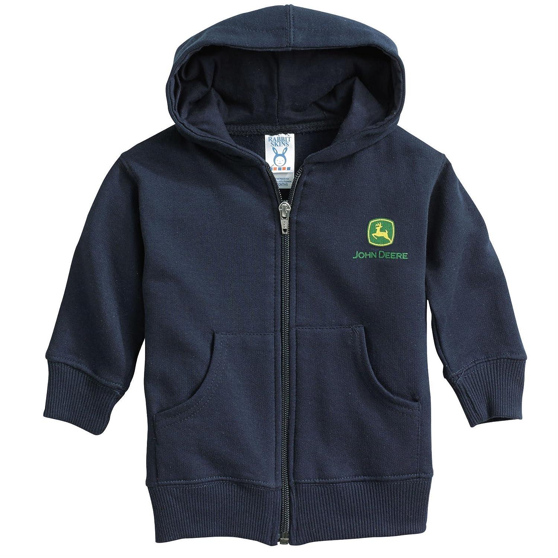 93567 Navy Infant John Deere Full Zip Hoodie//Jacket