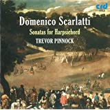 Scarlatti: Sonatas for Harpsichord (Kk 124, 99, 201, 87, 46, 95, 204a, 490, 491, 520, 521, 513) /Pinnock
