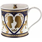 Dunoon HRH Prince Henry (Harry) of Wales & Miss Meghan Markle Wedding 19th May 2018 Commemorative 22ct Gold Mug Fine Bone China Made in England