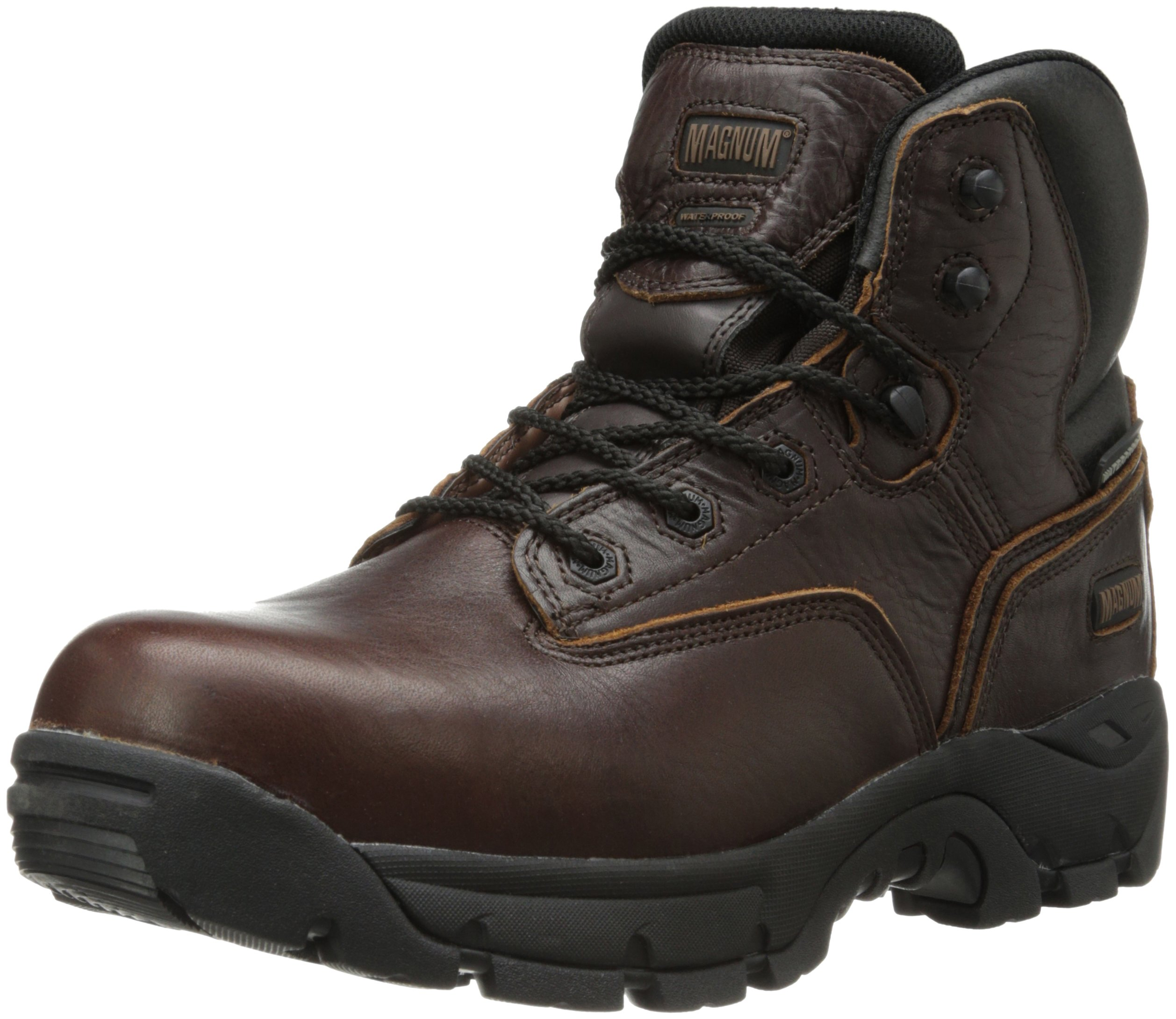 Magnum Men's Precision Ultra Lite II Composite Toe Waterproof Boot,Rioja Brown,9 W US