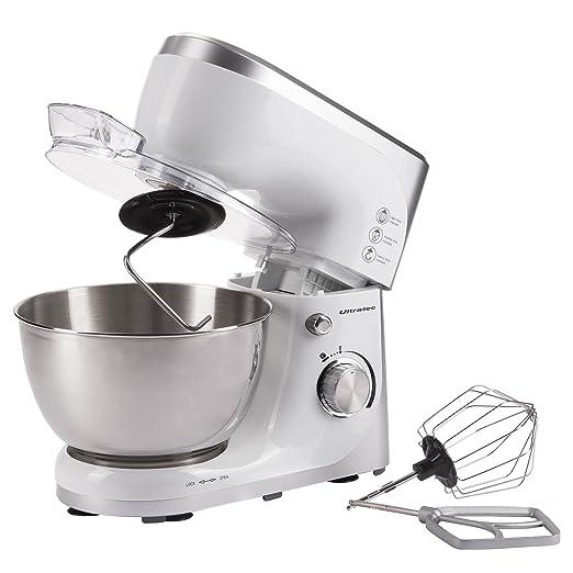 17 opinioni per Ultratec 331400000688 Robot da Cucina con Recipiente in Acciaio Inox, Potenza
