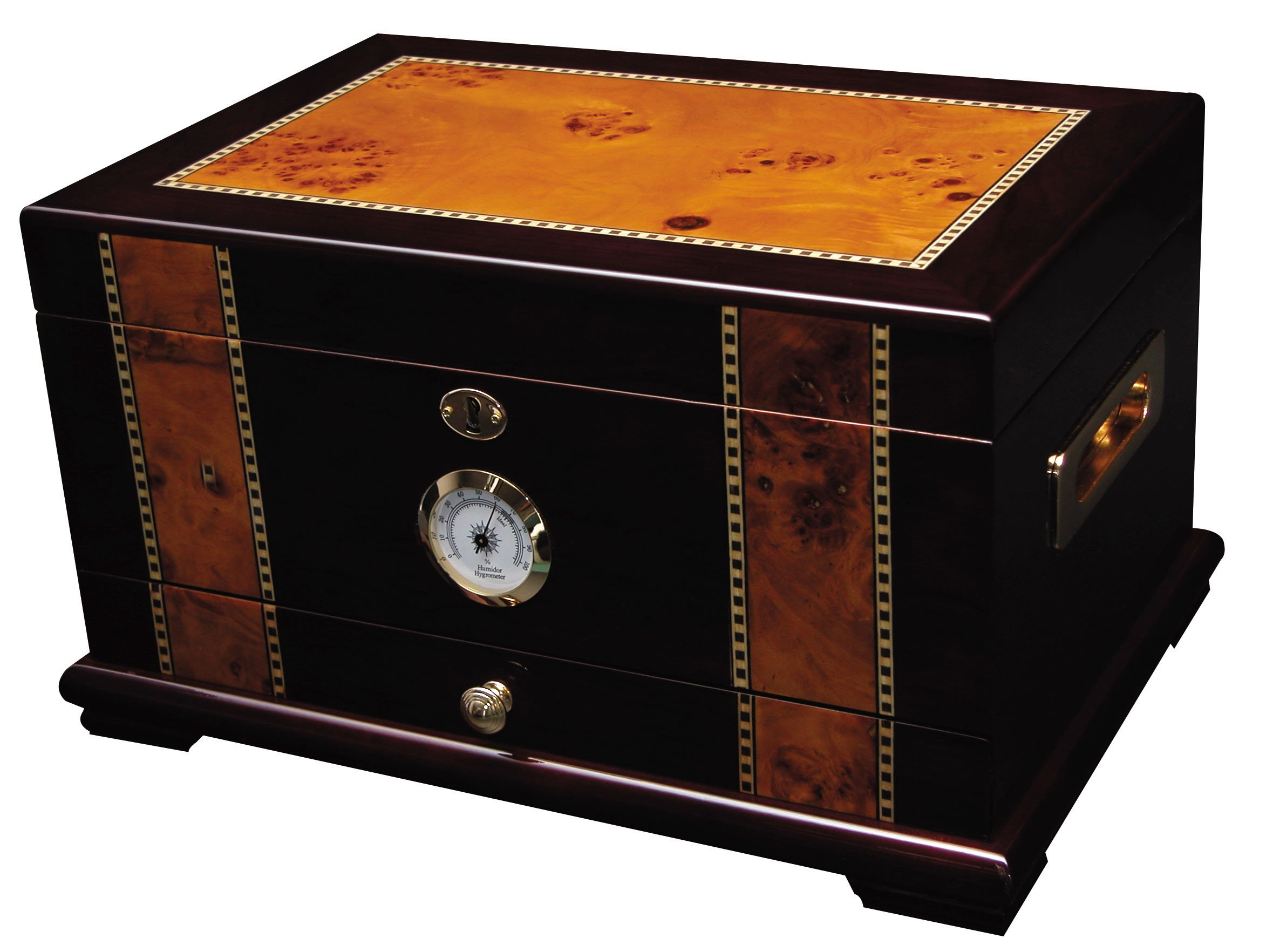 Quality Importers Desktop Humidor, Solana by Quality Importers