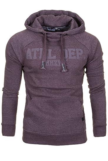 Hoodie Kapuzenpullover Herren Sweatshirt Pullover Streetwear