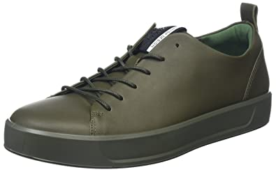 4717964c03 ECCO Soft 8 Men's Low-Top Sneakers: Amazon.co.uk: Shoes & Bags