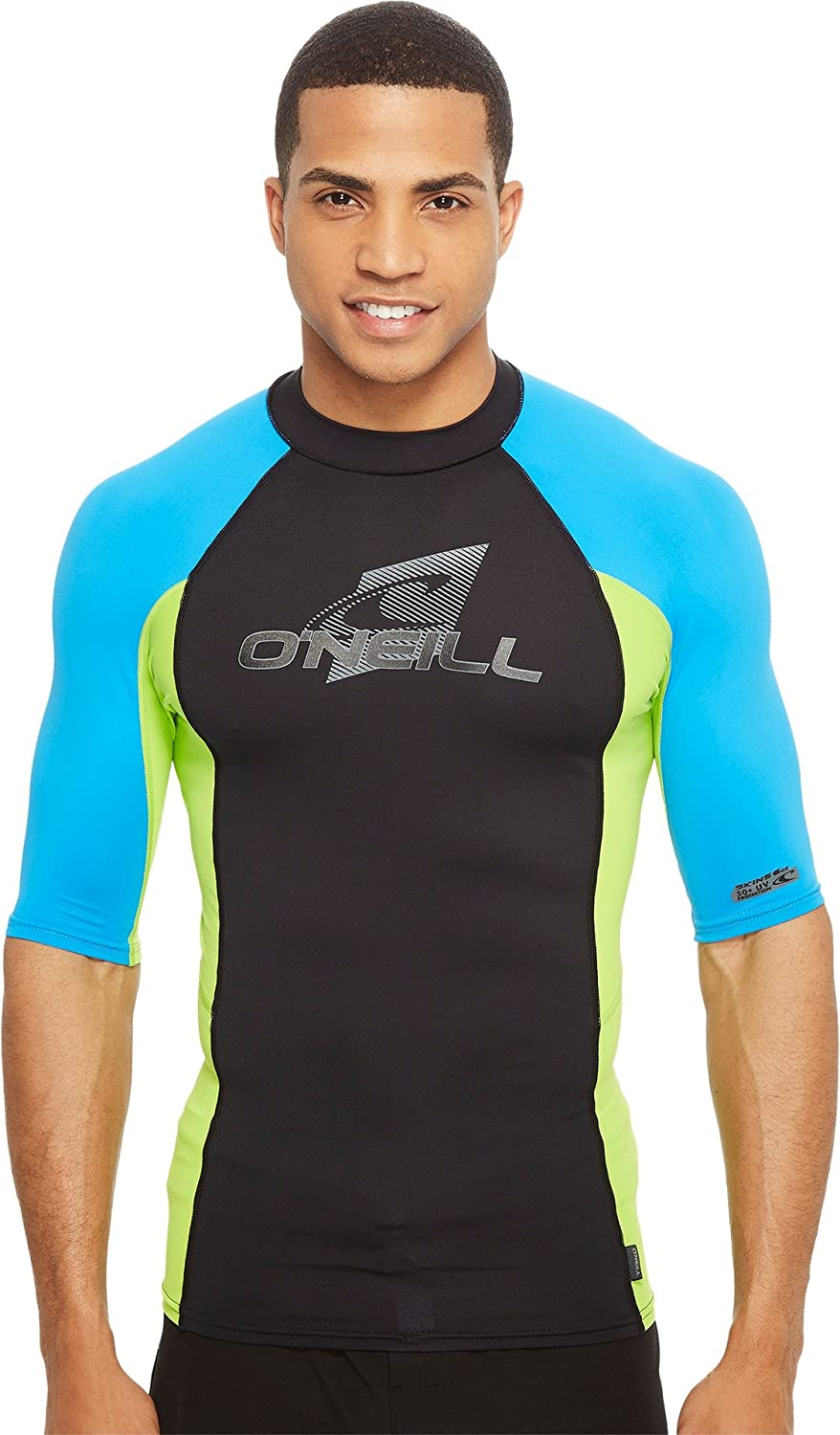O'Neill Men's Premium Skins UPF 50+ Short Sleeve Rash Guard O'Neill
