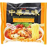 Myojo Chukazanmai Instant Ramen Miso Soybean Paste Flavor, 3.84-Ounce (Pack of 6)