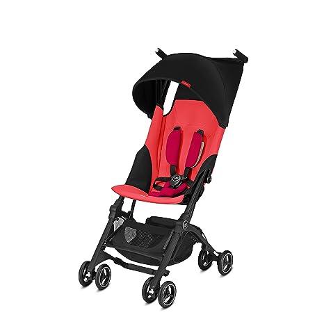 GB Oro Pockit Plus carrito de bebé, color rojo: Amazon.es: Bebé
